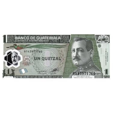 Guatemala 1 Quetzal 2012...