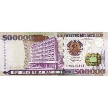 Mozambique 500 000 Meticais...