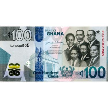 Ghana 100 Cedis 2019 P-50
