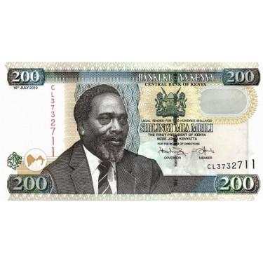 Kenya 200 Shillings 2010 P-49e