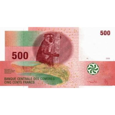 Comoros 500 Francs 2006 P-15b