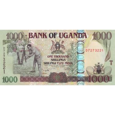 Uganda 1000 Shillings 2009...