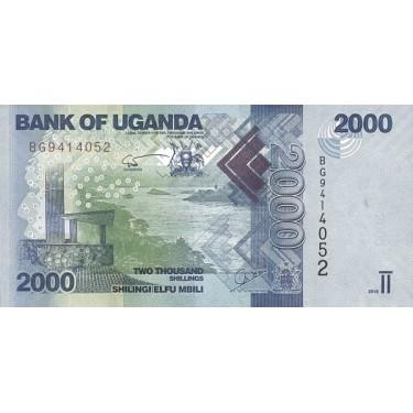Uganda 2000 Shillings 2015...
