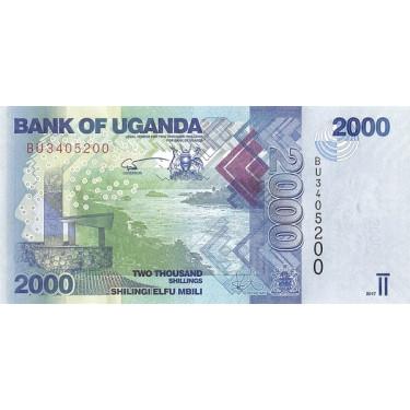 Uganda 2000 Shillings 2017...