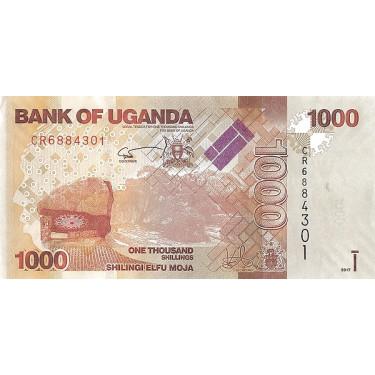 Uganda 1000 Shillings 2017...