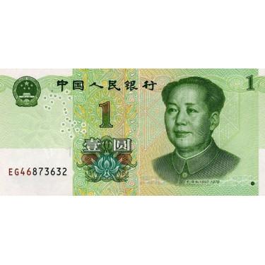 China 1 Yuan 2019 P-new