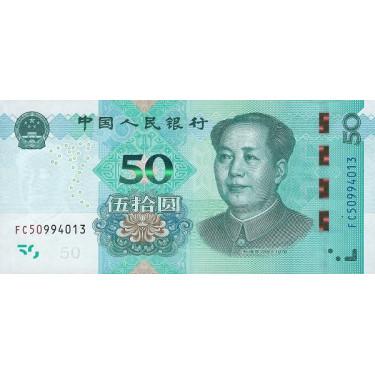 Kina 50 Yuan 2019 P-new