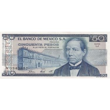Mexico 50 Pesos 1981 P-73