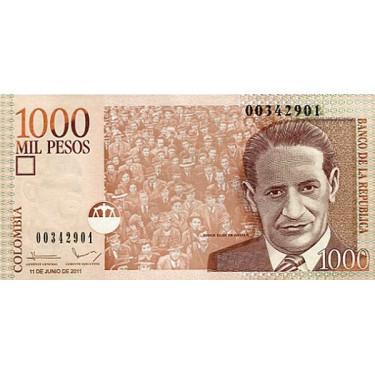 Colombia 1000 Pesos 2011...