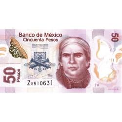 Mexico 50 Pesos 2016 P-123Av