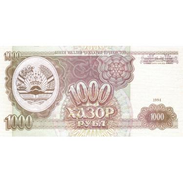Tadzjikistan 1000 Rubles...