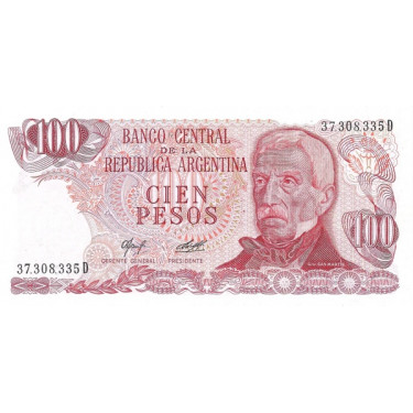 Argentina 100 Pesos 1976...