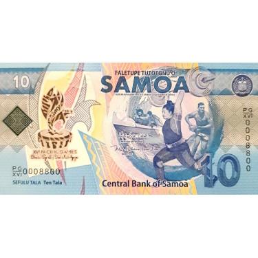 Samoa 10 Tala 2019 P-new