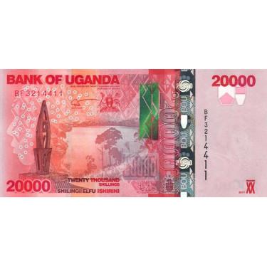 Uganda 20000 Shillings 2017...