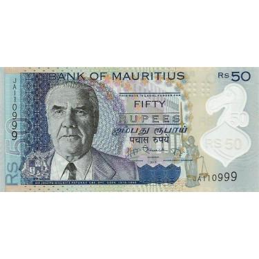 Mauritius 50 Rupees 2013 P-65