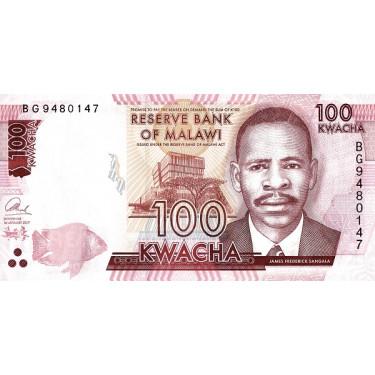 Malawi 100 Kwacha 2017 P-65c