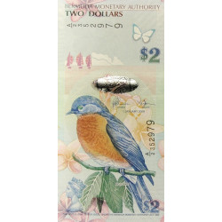 Bermuda 2 dollars 2009 P-57c