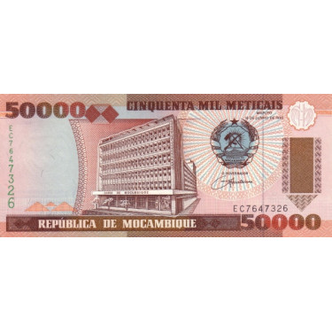 Mozambique 50000 Meticais...