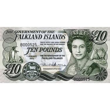 Falklandsöarna 10 Pounds...