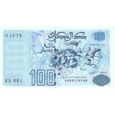 Algeriet 100 Dinars 1992 P-137