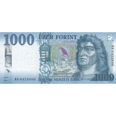 Ungern 1000 Forint 2017 P-203a