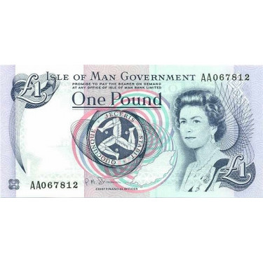 Isle of Man 1 Pound 2009 P-40c