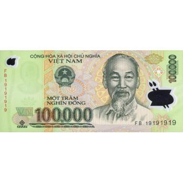 Vietnam 100000 Dong 2019 P-122