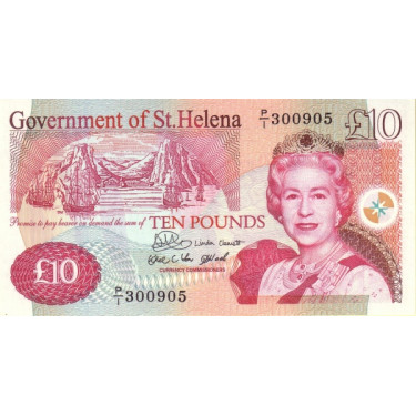 Saint Helena 10 Pounds 2004...