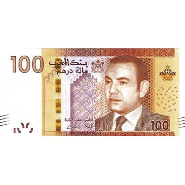 Marocko 100 Dirhams 2013 P-76