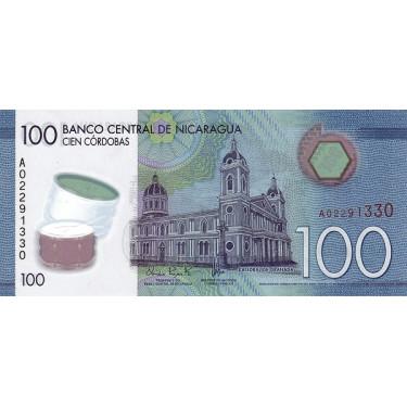 Nicaragua 100 Cordobas 2014...