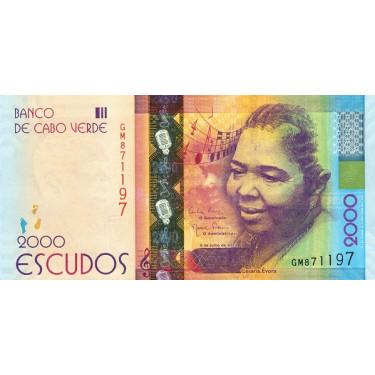 Kap Verde 2000 Escudos 2014...