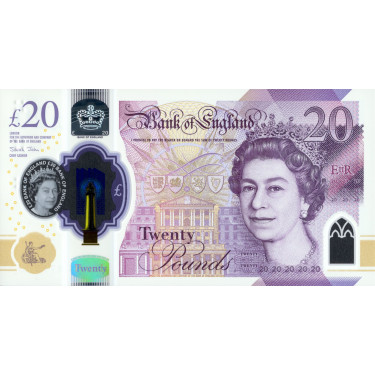Great Britain 20 Pounds...