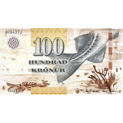 Faeroe Islands 100 Kronur...