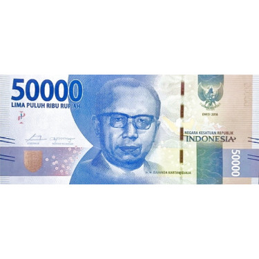 Indonesia 50000 Rupiah 2016...