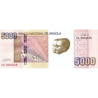 Angola 5000 Kwanzas 2012 P-158