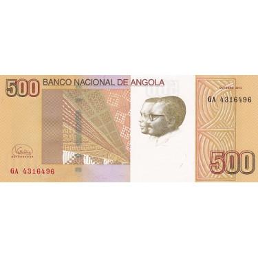 Angola 500 Kwanzas 2012 P-155b