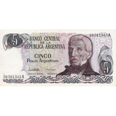 Argentina 5 Pesos ND P-312a2