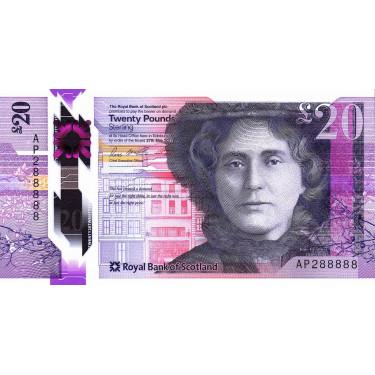 Skottland 20 Pounds 2020...