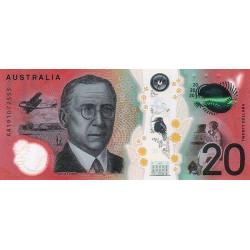 Australien 20 Dollars 2019...