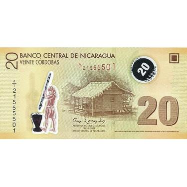Nicaragua 20 Cordobas 2007...