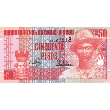 Guinea Bissau 50 Pesos 1990...